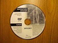 Jaguar DVD Map Disc NAVTEQ Europe 6W83-10E898-AG 2010-2011