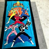 Mighty Morphin Power Rangers  -1993 Vintage Towel