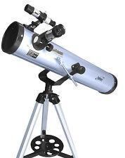 Seben 700-76 Telescopio Reflector + DKA2 Adaptador Cámara Digital USB Catalejo