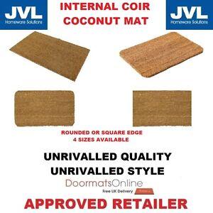 Internal Heavy Duty 15mm Coir Door Mat with a PVC Backing Indoor Mud Shifter