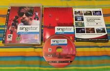 SINGSTAR + SINGSTORE per PS3 - PLAYSTATION 3 vers. PAL UK COME NUOVO E COMPLETO