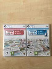 Me desafío palabra Puzzles Rompecabezas cerebro & 2-PC DVD Nuevo Y Sellado-Paquete Doble