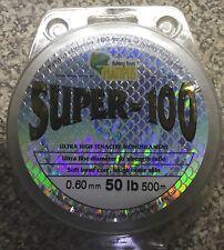Platypus Super 100 mono Fishing Line  50lb 300m Clear  0.60mm ,reels tackle