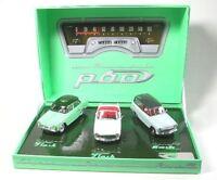 Simca P60-set mit 3 Modelle