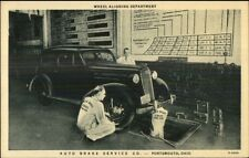 Portsmouth OH Gallia Street Auto Brake Service Co Mechanics Work in Garage