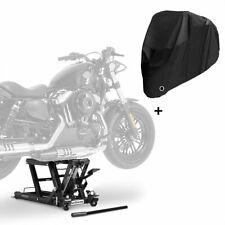 Hebebühne LB + Abdeckplane XXL für Harley Davidson Dyna Wide Glide