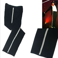 Rare MJ sliver leisure stripe Billie Jean ankle length pants