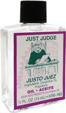 Just Judge Ritual Oil Spell Wicca Pagan Witchcraft 1/2 Oz Court Win Luck Occult