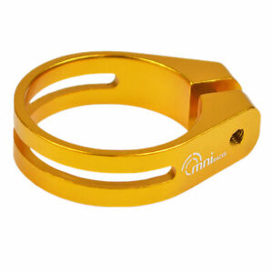 OMNI Racer WORLDS LIGHTEST RACE-Lite Seatpost Clamp JUST 10 grams 28.6-29mm GOLD