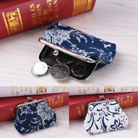 Retro Canvas Coin Purse Kids Wallet Girls  Money Bag Children Gift  Women AA
