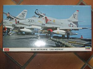 "1/48 HASEGAWA AVION  A-4E SKYHAWK ""USS MIDWAY"" edition limité"