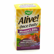 Nature's Way Alive! Women's 50+ Vitamins, Multivitamin Supplement Tablets (60 Count)