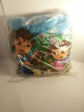 new Dora and Diego pillow 2'x2' Doublesided