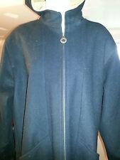 Vintage Pendleton 100% Merino Wool Black Hooded Winter Coat Womens Sz 8   H39