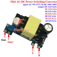 AC-DC Converter Switching Power Supply 110V 220V 230V to 4.2V 5V 9V 12V 15V 24V