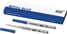 Montblanc 2 Ballpoint Pen Refill - Royal Blue 124493