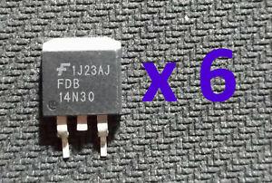 Kit d'amélioration/réparation calculateur DME MSD80 N54 BMW: MOSFET FDB 14N30