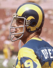FRED DRYER 1978 LA LOS ANGELES RAMS 8X10 PHOTO #2