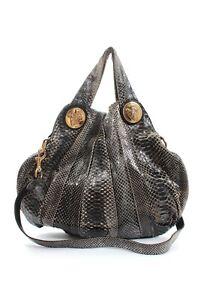 Gucci Hysteria Large Python Hobo Bag / Black / RRP: £2,800.00