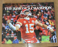 Patrick Mahomes The Rise Of A Champion Hardback Limited Edition Book Chiefs MVP