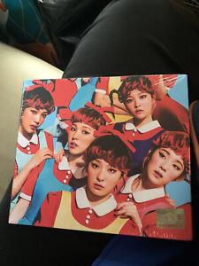 Red Velvet The Red 1st. Mini Album Sealed
