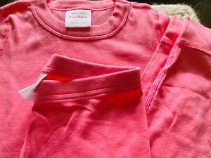 hanna Andersson Long John Pajamas In Organic Cotton- bubblegum pink-120, US 6-7