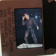 RICKY MARTIN Menudo Livin la Vida Loca General Hospital The Cup of Life SLIDE 34