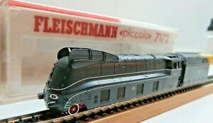 Fleischmann N 7172 Steam Br 01 1070 Power Line The DRG Tenderbeleuch. Boxed