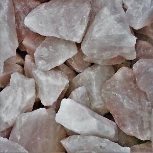 1Kg Rosenquarz Wassersteine Wasserregenerierung Edelsteine Mineraliensammlung c