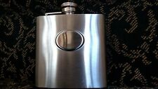 Collectable Brashed stainless steel flask