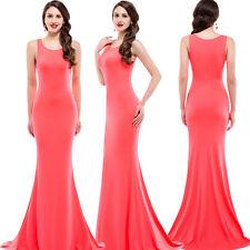 Sexy Bridesmaid Bodycon Long Wedding Cocktail Prom Ball Evening Party Maxi Dress
