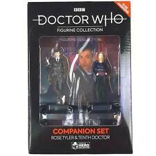 More details for doctor who 10th doctor david tennant rose eaglemoss figurine companion set