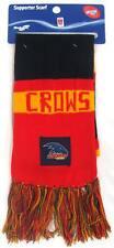 65222 ADELAIDE CROWS AFL FOOTBALL CLOTH PATCH BAR SCARF