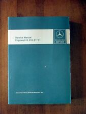 Mercedes Benz Service Manual Engines 615, 616, 617.91