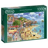 Jumbo 11264 Falcon de Luxe-Seaside Promenade 1000 Piece Jigsaw Puzzle, Multi