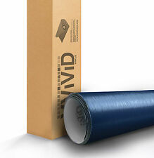 VVIVID Blue brushed aluminum vinyl car wrap 3ft x5ft (60inch) decal 3mil durable