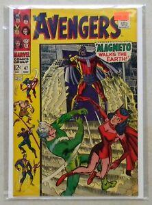 Avengers #47 $800.00 (1967) 8.0 VF 1st Dane Whitman BLACK KNIGHT Eternals CGC IT