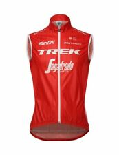 2018 Trek Segafredo Team CYCLING Vest - Red - Made in Italy by Santini
