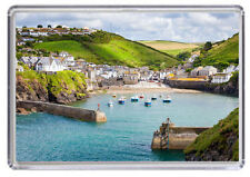 Port Issac Cornwall England Fridge Magnet 01