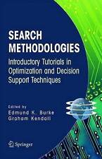 Search Methodologies: Introductory Tutorials in Optimization and Decision Suppo…