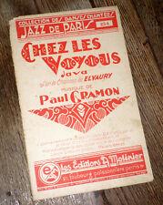 chez les voyous java orchestre musette piano conducteur 1935 Paul Gramon