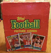 1990 Topps Football 22 Sealed Rack Packs Box many rookies & HOF players stars