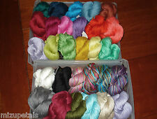 1 Sk Noro Lily Silk & Cotton Braided Soft Luxurious Sport Yarn (29 Colors) RARE