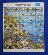 Palau (#103) 1986 World of Sea & Reef MNH sheet