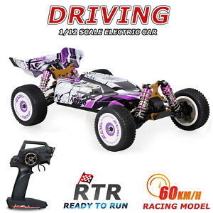 Wltoys 124019 1:12 4WD 60km/h High Speed Brushed RC Car Drift Car with 1 Battery