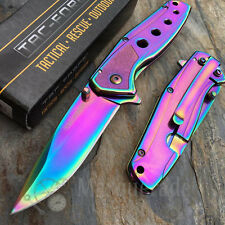 Tac Force Rainbow Collectors Small Gentleman's Pocket Knife TF-926RB