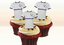 LEEDS Colours Stand-up Cake Toppers. Novelty Fun Party Edible Wafer Birthday