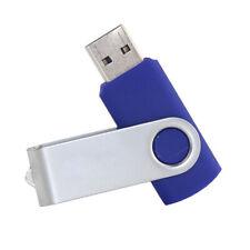128GB USB MEMORY STICK SWIVEL BLUE BRAND NEW UK SELLER