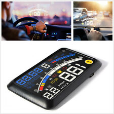 OBD2/EOBD Car HUD Head-Up Display Overspeed Warning Dashboard Mounted Projector