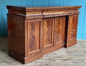 19th Century Antique Mahogany Chiffonier Cupboard Sideboard DELIVERY*
